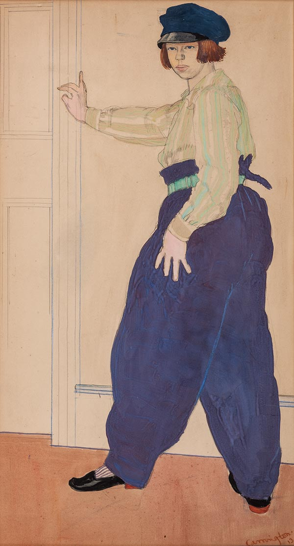 Self Portrait, 1913. Please click to see an enlarged image