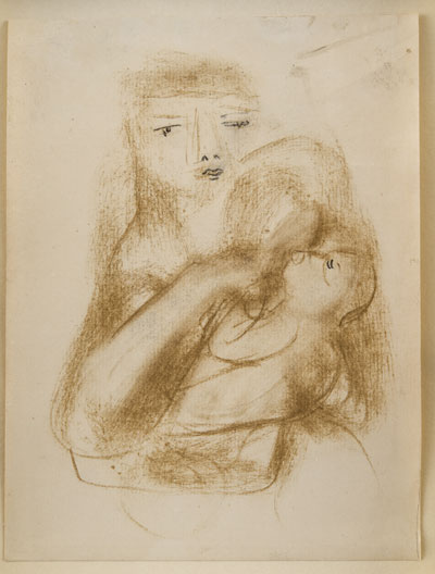 Mother & Child, 1926. Please click to see an enlarged image