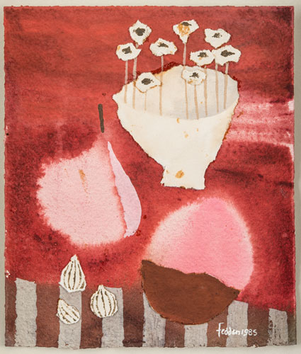 Red Still Life, 1985. Please click to see an enlarged image